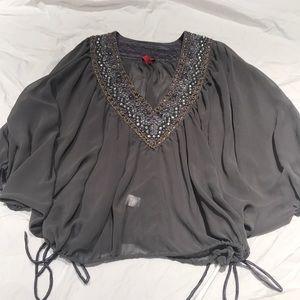 Beautiful gray top, size small